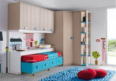Novedad Dormitorio juvenil Compacto FORMAS 12+1 Ambiente F009