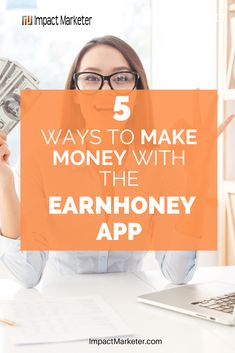 Wanna learn more about the Earnhoney App? These are 5 ways the EarnHoney app will make you money. Click through to check it out now! #earnhoney #earnhoneyapp #cashback #rewards #getpaidto