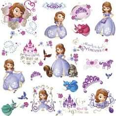 Sofia The First Peel and Stick Wall Decals, http://www.amazon.com/dp/B00BK89Z5M/ref=cm_sw_r_pi_awdm_CC6ntb0S1585M