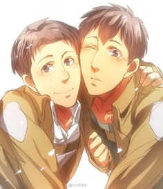 Attack on Titan | Bertholdt and Marco