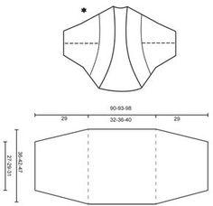 """Mette - Coprispalle DROPS lavorato ai ferri con motivo traforato in """"BabyAlpaca Silk"""". Taglie: S-XXXL. - Free pattern by DROPS Design"""