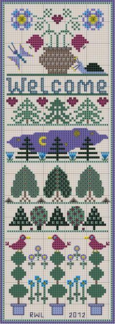 Free x stitch charts