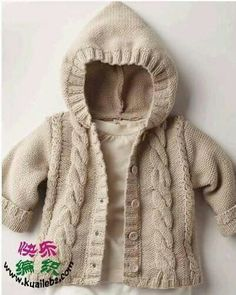 ideas crochet sweater toddler boy jacket pattern for 2019 Baby Knitting Patterns, Baby Sweater Patterns, Baby Boy Knitting, Knit Baby Sweaters, Toddler Sweater, Knitted Baby Clothes, Knitting For Kids, Baby Patterns, Baby Pullover Muster