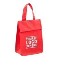 80GSM Non-Woven 'Bag-it' Value Priced Lightweight Lunch Tote