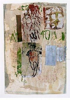 Hannelore Baron, Untitled 1983 Mixed Media Collage, via: http://www.artnet.com