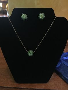 Swarovski Crystal neckless and earring  #Swarovski