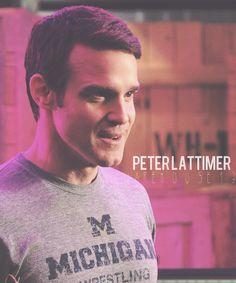 Pete Lattimer - Warehouse 13.  Love Pete.  Great comic relief.