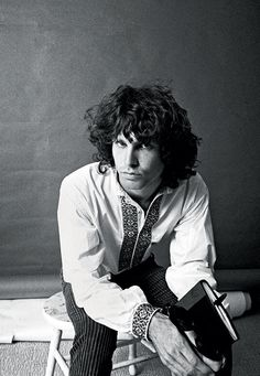 Jim Morrison photographed by Guy Webster, 1966 (via TumbleOn).