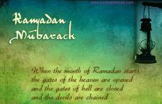 Ramadan Mubarak Graphics For Orkut Myspace Facebook Hi5, Tumblr & Blogs !!!