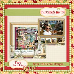 Download this FREE frickie designed by The Cherry On Top with Over The Fence Designs', Around The World In 80 Days.