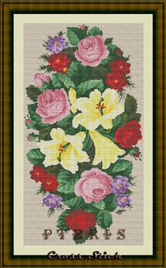 Instant Download counted Cross Stitch Pattern by PterisCrossStich, $5.00