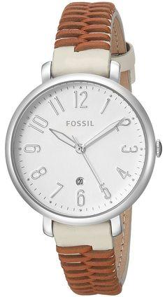 572e8be39 #Fossil #Jacqueline Quartz ES4209 Women's Watch Watch Fan, Casual Watches, Fossil  Watches
