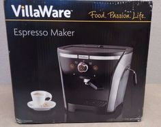 NEW! VillaWare NDVLEM1000 15 Bar Pressure Home Espresso/Cappuchino Maker >>> Learn more by visiting the image link.
