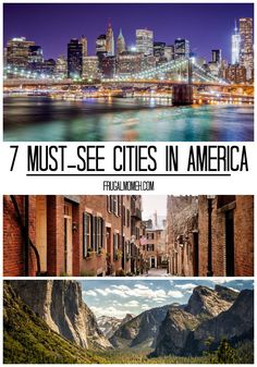 Home of everything from volcanoes to football stadiums, America is one of the most diverse countries in the world. But what if you aren't sure where to begin your journey through the States? What cities are absolutely essential during your nationwide tour? Here are just seven ideas.  1. New York City, New York …