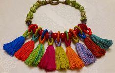 Tassel necklace Tassel Necklace, Tassels, Jewelry, Jewlery, Jewerly, Schmuck, Jewels, Tassel, Jewelery