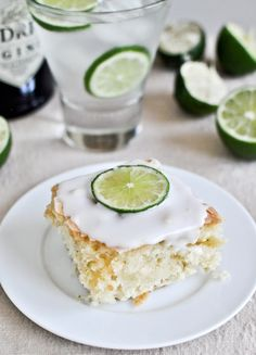 Gin and Tonic Cake | howsweeteats.com