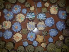 Birthday mixed cupcakes