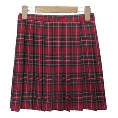 Plaid Patternered Skirts ❤ liked on Polyvore featuring skirts, tartan plaid skirt, tartan skirt and plaid skirt