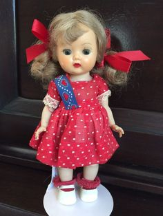 Darling NASB Muffie Beautiful Dress And Doll!