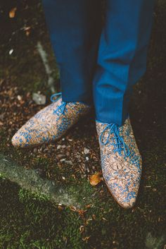 Shoes of the Groom: Cork Ocean by Mascolori