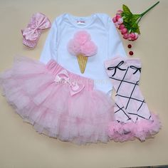 Girls Bodysuits Ruffle Tutu baby Carters Original Newborn Clothes Brand Sets Next  Longsleeve Jumpsuit + Leg Warmer +Headband