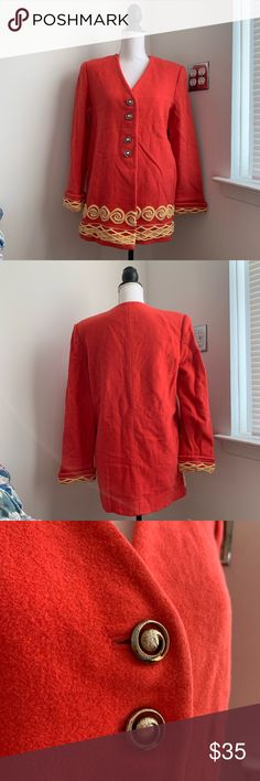 3a29cd6eeff736 Vintage Red Chinese New Year Jacket • Vintage Red Chinese New Year Jacket •  In very