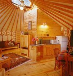 My Boyfriend wants us to live in this. It's called a yurt ... frankly, I think it's a larger version of a Wigwam.