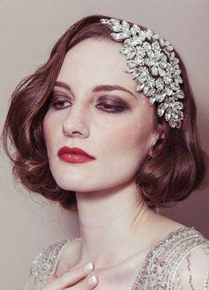 #hair. Wedding Headpiece For Short Hair | 2013 Short Haircut for Women