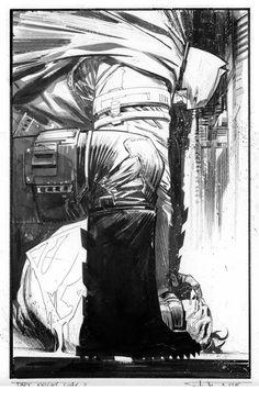 The Dark Knight vs. Superman by Sean Murphy *
