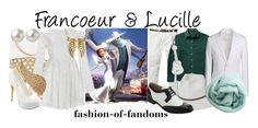 """""""Francoeur and Lucille"""" by fofandoms ❤ liked on Polyvore"""
