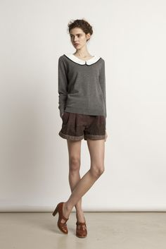 I LOVE this outfit from the Colemino lookbook. Can I please wear shorts to work??