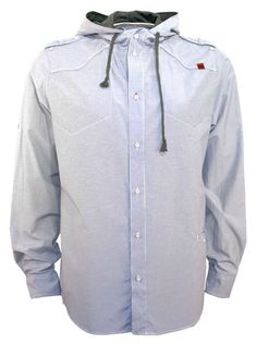 Beck & Hersey Hampton hooded shirt - Shirts - Clothing - Men
