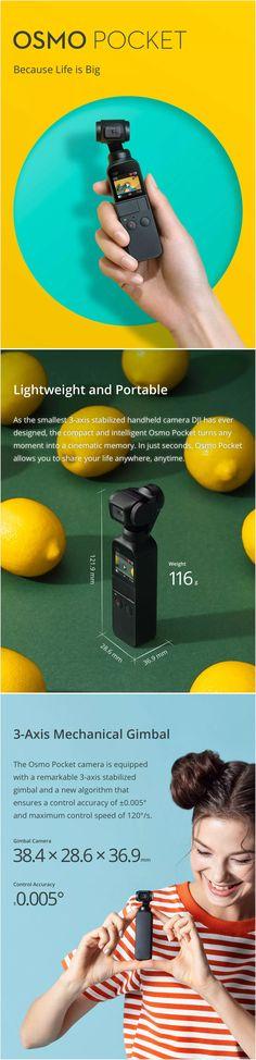 Handheld Camera, Dji Osmo, Sd Card, Coupon, Smartphone, Hobbies, Pocket, Toys, Great Ideas