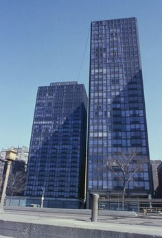 Esplanade Apartments Buildings 1956| Mies van der Rohe