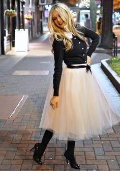 look tule skirt - Pesquisa Google