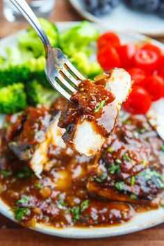 Balsamic Maple Dijon Chicken with Bacon Sauce