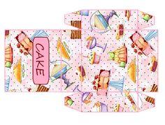 casa de bonecas da eloisa: cake box