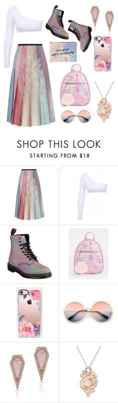 """Pisces' Cotton Candy"" by wngkrsus ❤ liked on Polyvore featuring Gucci, Dr. Martens, Casetify, ZeroUV, Anne Sisteron, LE VIAN and Charlotte Russe"