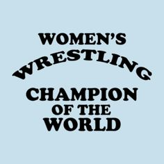 Replica of Andy Kaufman's iconic Women's Wrestling Champion of the World t-shirt has been added to the store.   #WWE, #ProWrestling, #MemphisWrestling, #WWEDIVAS, #givedivasachance, #tshirt,