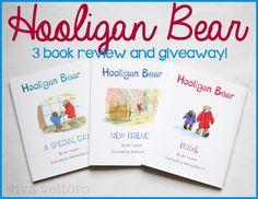 viva veltoro: Hooligan Bear Books Review and Giveaway! #FunToBeOne