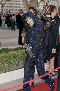 """Prince at the 1985 Oscars, who won for Best Song for """"Purple Rain"""""""