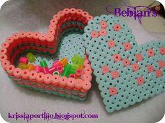 Joyero hama beads by Bebian's