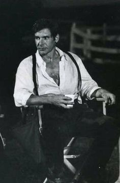 Harrison Ford is a handsome guy