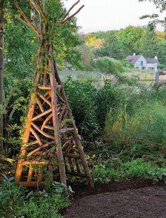 Rustic garden folly