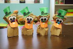 Teach Them To Fly: Making Leprechauns! A fun fine motor activity to celebrate saint Patricks day!