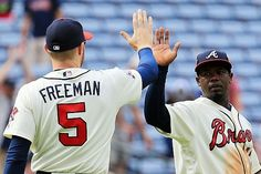 The Atlanta Braves get a rare win over the Washington Nations today in Atlanta, backed by the offense of Trea Turner and Nick Markakis.