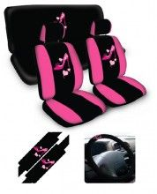1000 images about girly cars for me on pinterest car seat cover sets pink cars and cars. Black Bedroom Furniture Sets. Home Design Ideas