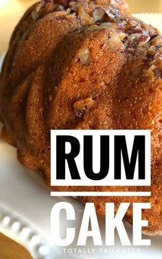 This is the best and easiest, Rum Cake Recipe that is bursting with rum flavor and is then soaked in a rum glaze. Rum Cake is the perfect holiday dessert. Holiday Desserts, Holiday Baking, Christmas Recipes, Best Rum Cake Recipe, Rum Cake Recipe With Pudding, Baking Recipes, Dessert Recipes, Cupcake Recipes, Yummy Recipes