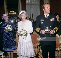 and Sofia of Greece with Crown Princess Beatrix Amsterdam Netherlands Spanish Royalty, Princesa Diana, Queen, Bridesmaid Dresses, Wedding Dresses, Children And Family, Rey, King, Amsterdam Netherlands