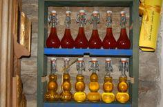 bottigliette di oleoliti